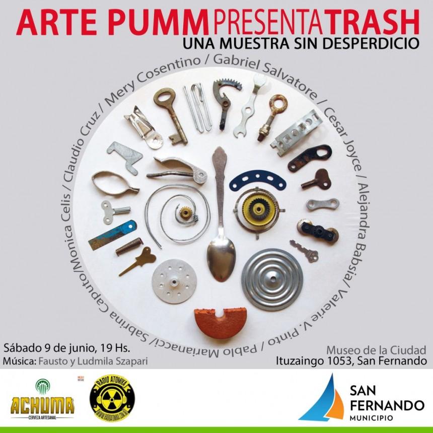 """""""Trash"""": la muestra de arte sustentable llega al Museo de San Fernando"""