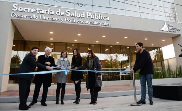 Andreotti inauguró la nueva Secretaría de Salud Pública