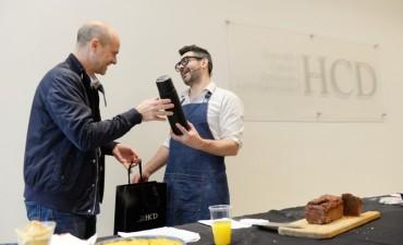 San Fernando y Molinos ofrecieron un taller de cocina saludable para trabajadores de comedores