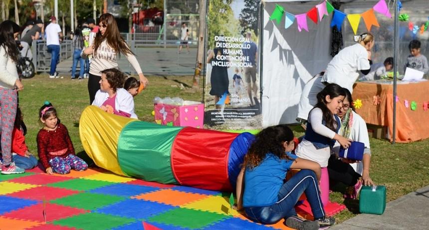 Los chicos disfrutaron de una nueva tarde de 'Jugando Conozco mis Derechos' en San Fernando