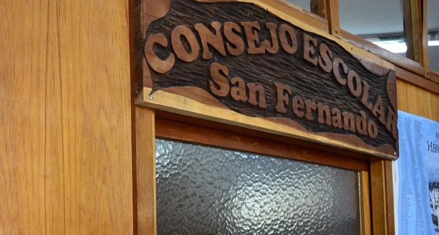 El Consejo Escolar de San Fernando informa cómo anotarse para cargos de cocina, porteros y auxiliares