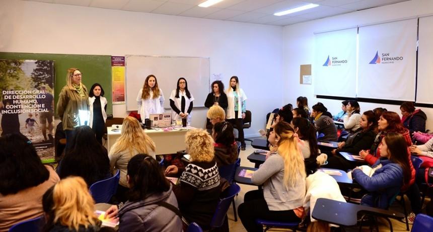 San Fernando sostuvo un Taller de Políticas de Género junto organizaciones sociales