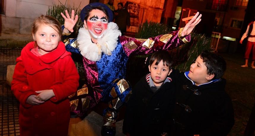Miles de sanfernandinos disfrutaron de espectáculos gratuitos en las vacaciones de invierno