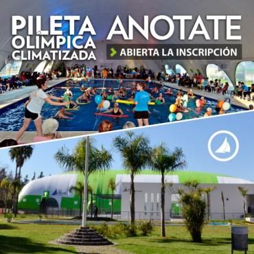 Abierta la inscripción para la nueva pileta olímpica climatizada del Polideportivo N° 3