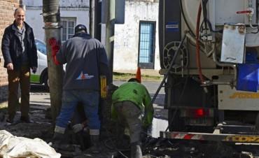 """Santiago Aparicio: """"Con obras, arreglos y ampliaciones de conductos se evitan inundaciones"""""""