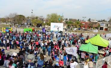 Cientos de familias sanfernandinas llenaron las plazas en el inicio del 'Mes del Niño'