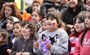 Otro fin de semana exitoso en las plazas de San Fernando por el 'Mes del Niño'