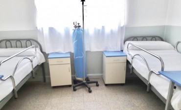 Avanzan obras de reacondicionamiento en el Hospital de Islas Dr. Ramón Carrillo
