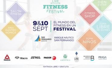 Llega el 'Live Fitness Festival' a San Fernando