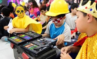 Los chicos de las UDI, CEIM, y Sumate de San Fernando festejaron el 'Día del Niño'