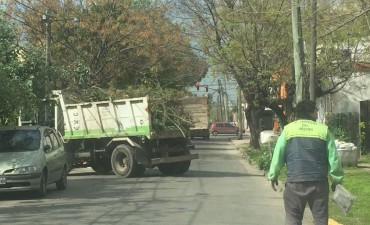 San Fernando hace operativos diarios de limpieza urbana