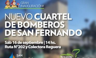 Mañana es la inauguración del nuevo Cuartel de Bomberos de San Fernando