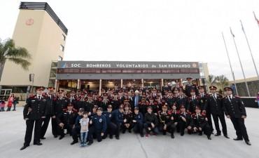 Andreotti inauguró el Cuartel de Bomberos más grande y preparado del país