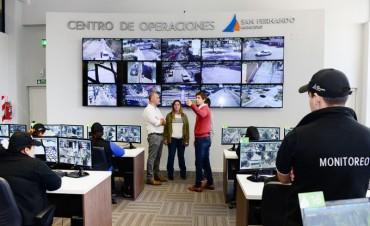 DIPUTADOS PROVINCIALES RECORRIERON EL CENTRO DE OPERACIONES DE SAN FERNANDO