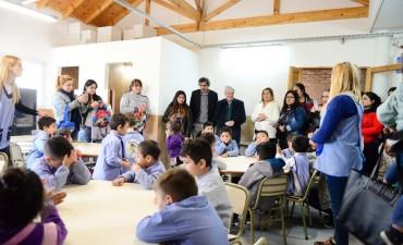 El Municipio inauguró una nueva sala en el Jardín 928
