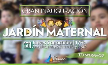 Este jueves, abre sus puertas el Jardín Maternal Municipal 'Barrios Unidos'