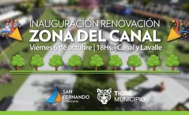 Este viernes, gran inauguración de la Plaza del Canal