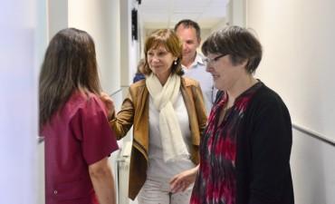 Alicia Andreotti realizó una reunión de trabajo con los odontólogos del Municipio