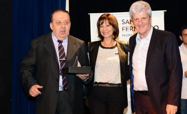 Andreotti reconoció a comerciantes y productores de San Fernando por su trayectoria