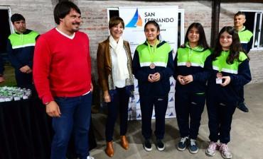 Alicia Andreotti reconoció a la delegación que participo de los torneos bonaerenses
