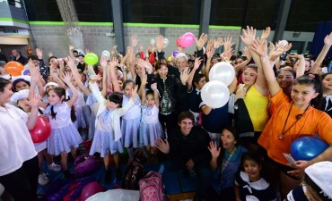 Cientos de chicos sanfernandinos se lucieron en la Gala de Gimnasia Infantil