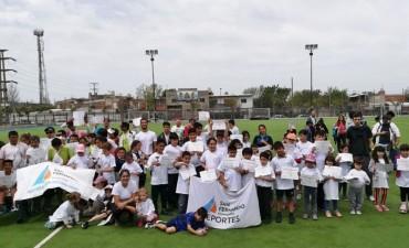 Gran encuentro de Interescuelas Municipales de Tenis en San Fernando