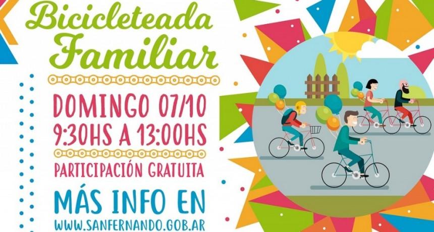 Llega una nueva edición de la Bicicleteada Familiar a San Fernando