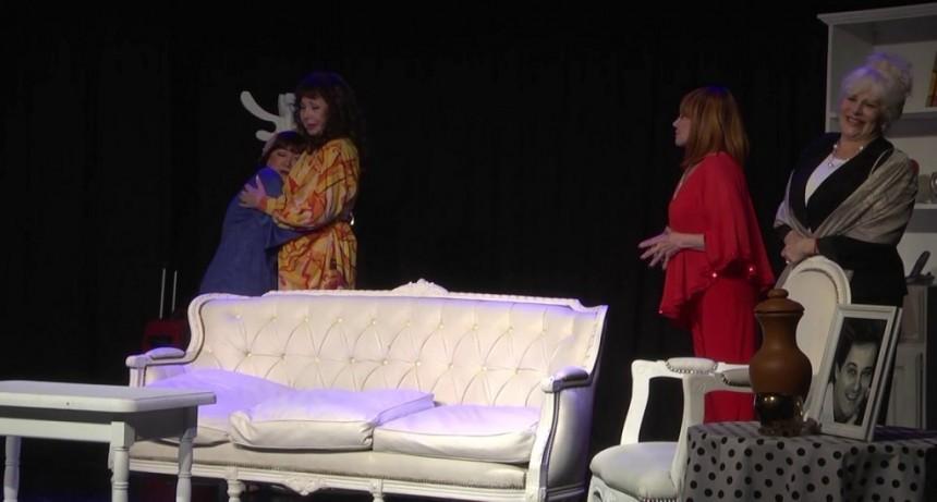 Zulma Faiad, Luisa Albinoni, Liliana Pécora y Silvia Montanari llenaron de risas San Fernando