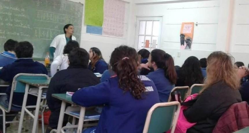 San Fernando brindó un taller sobre emociones, resiliencia y autocuidado en la escuela