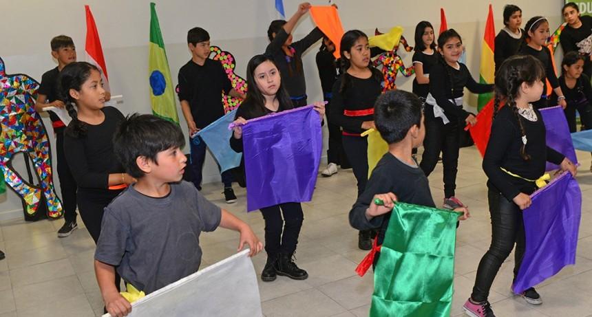 Acto por el Día de la Diversidad en los CEIM de San Fernando