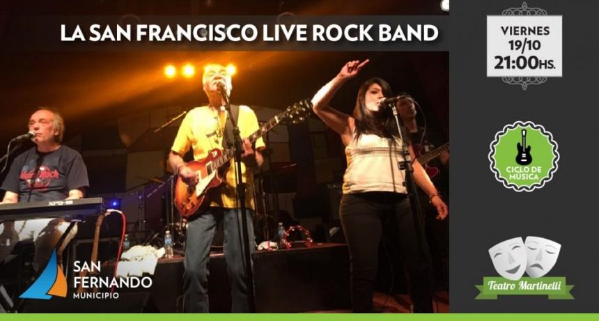 Este finde, llegan la San Franciso Rock and Roll Band y la Escola do Samba Estação Primeira al Martinelli