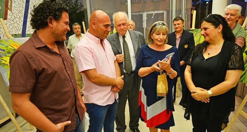 El Teatro Martinelli homenajeó con una nueva exposición a una artista de San Fernando
