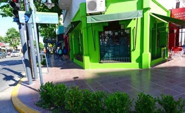 San Fernando renueva totalmente el centro comercial de Pte. Perón