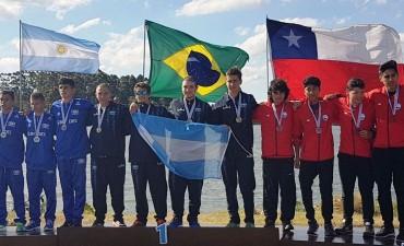 Sanfernandinos ganaron medallas sudamericanas y nacionales en canotaje