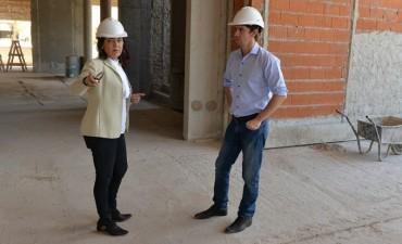 Avanza la construcción del nuevo edificio de Tránsito de San Fernando
