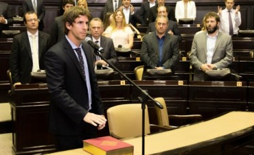 Juan Andreotti juró como Diputado Provincial