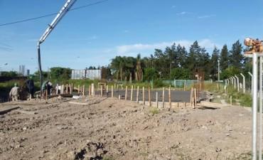 APORTAMOS 2 MILLONES DE PESOS MÁS PARA LA CONSTRUCCIÓN DEL NUEVO CUARTEL DE BOMBEROS