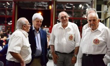 Andreotti participó de la cena de fin de año de los Bomberos de San Fernando