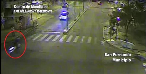 San Fernando: dos motochorros fueron detenidos por el trabajo conjunto de las patrullas municipales y las cámaras de seguridad