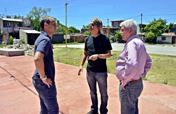 El Municipio avanza con la remodelación de la Plaza Don Mariano