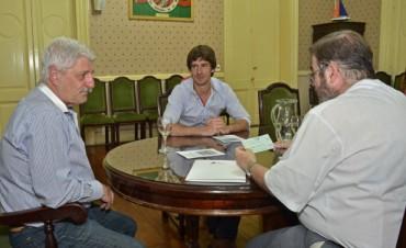 El Municipio hizo entrega del segundo subsidio a la Parroquia Nuestra Señora de Aránzazu