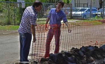 Comenzaron las obras para la instalación de gas en el Polideportivo N° 3