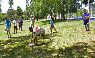 """Con gran convocatoria, comenzaron las """"Colonias para personas con discapacidad"""", en San Fernando"""