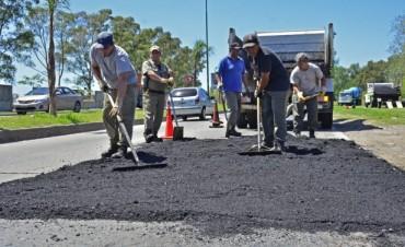 El Municipio de San Fernando arregla el camino Bancalari