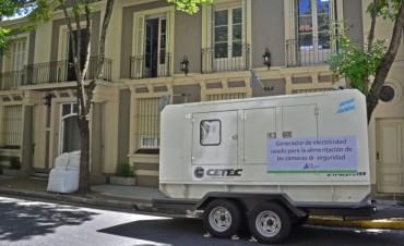 San Fernando incorporó un grupo electrógeno para suministro de energía permanente