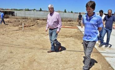 Avanzan las obras del Polideportivo N°5 de San Fernando