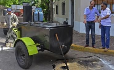 El Municipio trabaja en el mantenimiento de las calles de San Fernando