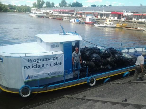 El Programa Municipal de Reciclaje en Islas recolectó cerca de 6 toneladas de residuos