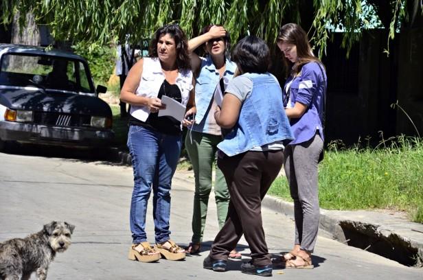 El Municipio de San Fernando realizó un relevamiento territorial en el Barrio Alsina