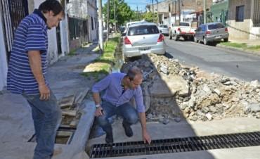 Trabajos de mejora en la red hidráulica del barrio Crisol